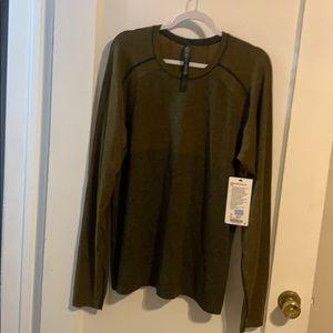 Lululemon long sleeve shirt. NEW WITH TAGS